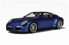 Porsche 911 Targa 4S Blue 1:18 Scale Resin Model from GT Spirit Part #GT037.  Production Total is 1500.