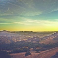 Sonoma County's Santa Rosa at Sunset from Hood Mountain. AFAR Highlight by @Spencer Spellman. #travel #California