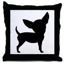 Chihuahua pillow - this site offers so many Chi gift ideas and I want them all!
