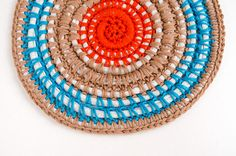 Crochet carpet instructions