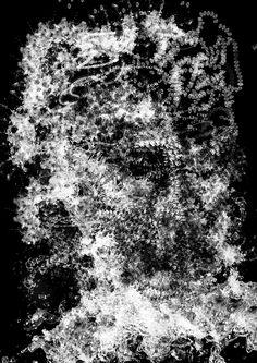 Face of Water, pinceis inspirados na água - L'ubomir Zabadal, Gimp.