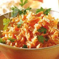 Ensalada turca de zanahorias y yogurt  al ajo @ allrecipes.com.mx