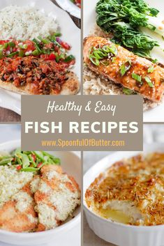 My go-to healthy and easy fish recipes for dinner - from sole, basa, salmon and other white fish. I especially love the baked fish with parmesan and herbs! Easy Baked Fish Recipes, Basa Fish Recipes, Fresh Fish Recipes, White Fish Recipes, Seafood Recipes, Healthy Dinner Recipes, Fisher, Fish Casserole, Fish Batter Recipe
