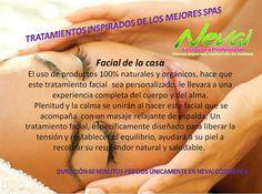 Faciales, Relajación, SPA, Clinica cosmética, Nevai Cosmética