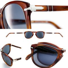 A technical design perspective of the Persol 714 Steve McQueen sunglasses