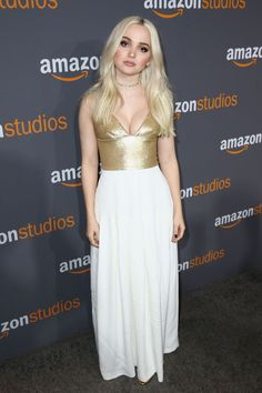 Dove Cameron at Amazon Studios' Golden Globes Party in Beverly Hills 01/08/2017