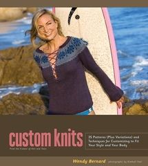 I need to find a copy of this book! Custom Knits by Wendy Bernard
