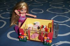 Yeah... my little rement house! by RementR, via Flickr  1:6th scale (toy size for Barbie)