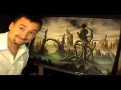 (1) Surreal Oil Painting Time Lapse - YouTube