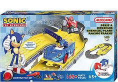 "Erector Sonic the Hedgehog Construction Playset - Sonic and Knuckles Chemical Plant - Meccano - Toys ""R"" Us"