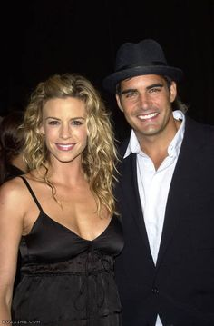 Galen Gering, soap opera Days of our lives with his wife