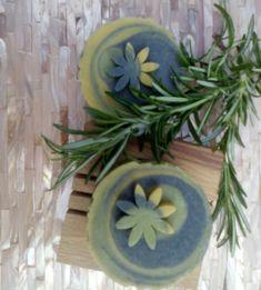 Rosemary & Patchouli, Olive & Hempseed Oil Soap, Vegan Palm & SL Free £3.95  #Folksy365