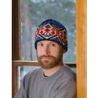 A Binge Bjärbo Cap from Sweden makes a great winter gift for a boyfriend/husband. And it's a good way to practice the magic loop knitting process. Magic Loop Knitting, Knitting Daily, Knit In The Round, Crochet Hooks, Knitted Hats, Knitting Patterns, Two By Two, Beanie, Cap