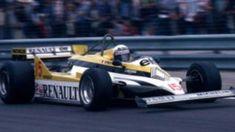 F1 Paper Model - 1981 GP France Renault RE30 Paper Car Free Template Download