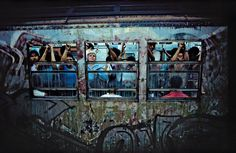 'Fotos fascinantes do metrô de NYC nos anos 80' - Série Fotográfica - THBR   Stefany