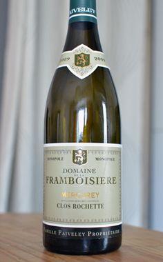 Mercurey « Clos Rochette » 2009, du domaine Faiveley « La Framboisière »