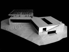 MAQUETAS: Maqueta casa Vik Millahue, para Smiljan Radic
