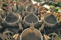 Cathédrale Saint Front. Périgueux. Perigord. Dordogne. Aquitaine France Area, Dordogne, 12th Century, Birds Eye View, Vacation Spots, Notre Dame, Saints, Places To Visit, Architecture