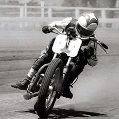 Gary Nixon! Loved this guy! What a racer! As a boy I thought he must be a super hero with those leathers and helmet and movie star cool!