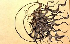 Sun Kissing The Moon - tattoo idea - cute-tattoo