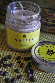 cattivi pensieri recensioni: SCRUBEE e l' aroma di caffe' con WAFFEE.