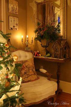 christma corner, aiken hous, cozi christma, christma tree, christma decor, christma cozi, eleg christma, christmas trees, cozy christmas