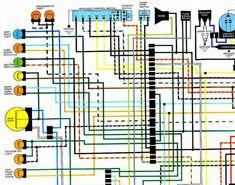 19 best motorcycle wiring diagrams images motorcycle wiringcb360 wiring  diagram wiring diagram third level kawasaki ninja