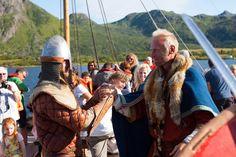 N? skal vikingene invadere Lofoten Se opp, n? kommer vikingene til Lofoten