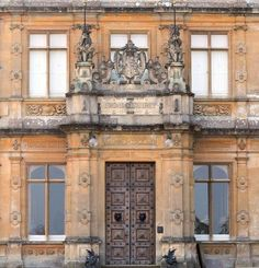 Downton Abbey and Highclere Castle front door | www.myLusciousLife.com