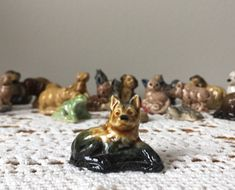 Alsatian Dog - English Wade Red Rose Tea Figurines Red Rose Tea, Alsatian, Stir Sticks, Vintage Children, Red Roses, I Shop, Craft Supplies, How To Make Money, English
