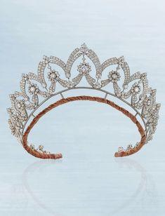 Diamond tiara / necklace Boucheron - Christie's London june 2018