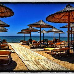 Nea Flogita Beach, Halkidiki, Greece