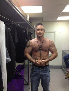 Hot hot Robbie Willams