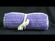 Crochet Hook / Make up Brush Case Tutorial - Easy