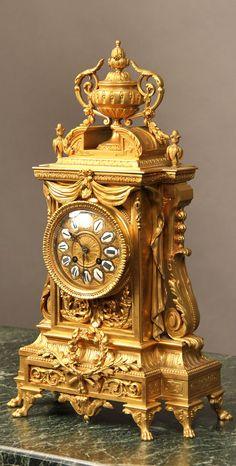 Wall Clock Brands, Wall Clock Online, Antique Clocks, Vintage Clocks, Classic Clocks, Unusual Clocks, Timer Clock, Mantel Clocks, Retro Clock