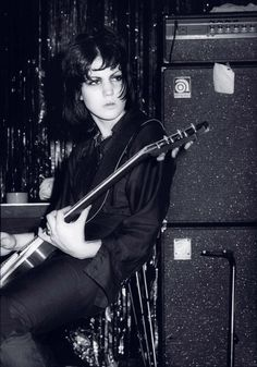 Joan Jett THE RUNAWAYS / I didn't want to grow up and be a typist and marry well! I wanted to grow up and be Joan Jett!