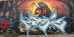 magic Wizards graffiti