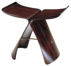 Vitra Yanagi Butterfly Stool modern ottomans and cubes; by Design Public  $645.00