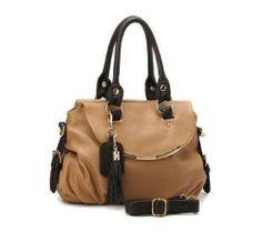 Khaki Grade Woman Frist Chose Leather Handbag Tote Shoulder Bags Woman  Handbag 0694aea4fa1