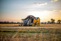 """destroyed-and-abandoned:  """" Abandoned Farm House in Australia Source: Hirsch & Sons Photography (flickr)  echo00000:  """"  There are more angles if you go through the photos  """" """""""