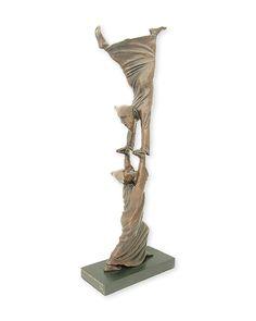 Sergio Bustamante Bronzes:La Alegria - The Joy