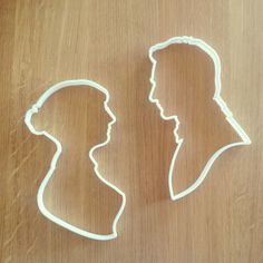 Jane Austen and Mr. Darcy cookie cutters. What a delicious way to enjoy a classic novel!