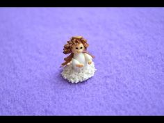 Статуэтка ангелочка (кукольная миниатюра). - YouTube