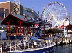 Chicago, Illinois. Navy pier-- always fun
