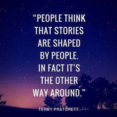 'We tell ourselves stories in order to live' Terry Pratchett Quote, Storytelling Quotes, Memoir Writing, Writing Inspiration, Read More, Memoirs, Other People, Poetry, Inspirational Quotes