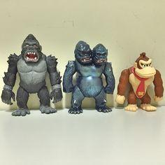 King Kong 1976 HS king gorilla-ju Donkykong