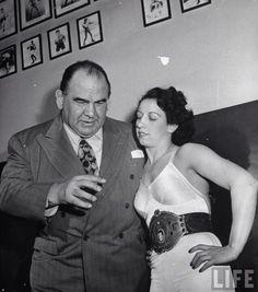 Strangler Lewis & Mildred Burke