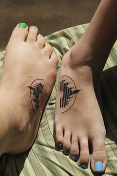 No one will be touching my feet, but I might like this as a wrist tattoo.