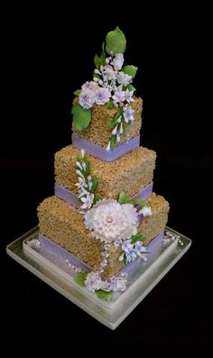 rice krispie wedding cake