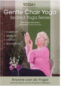 yoga elderly beginners | ... and Standing Series with Paula Montalvo / Yoga for Seniors / YogaJP